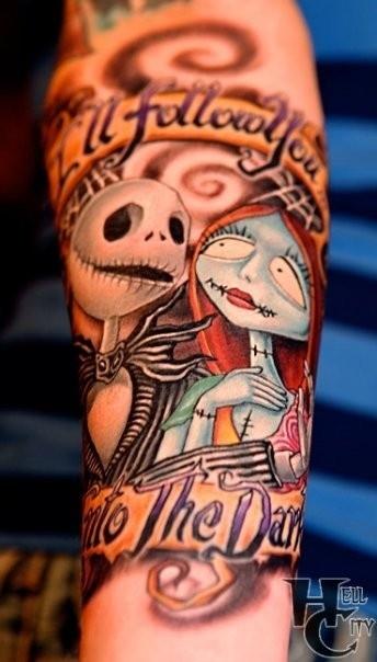 Jack Skellington tattoos 1