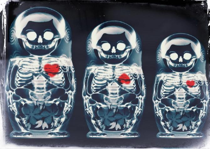 Nesting Doll X-Ray