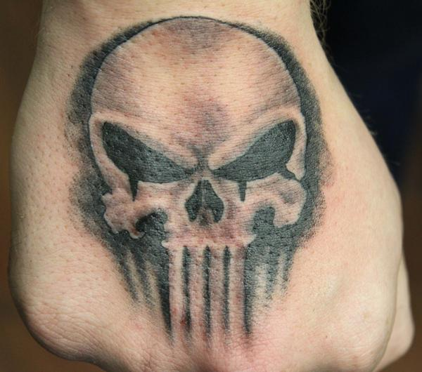Punisher tattoo design (2)