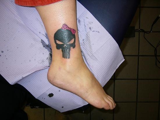 Punisher tattoo designs