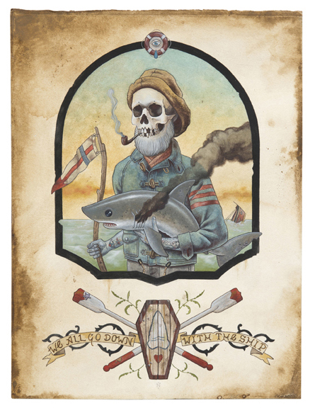 Skull Illustrations Dead Mans Tales 2