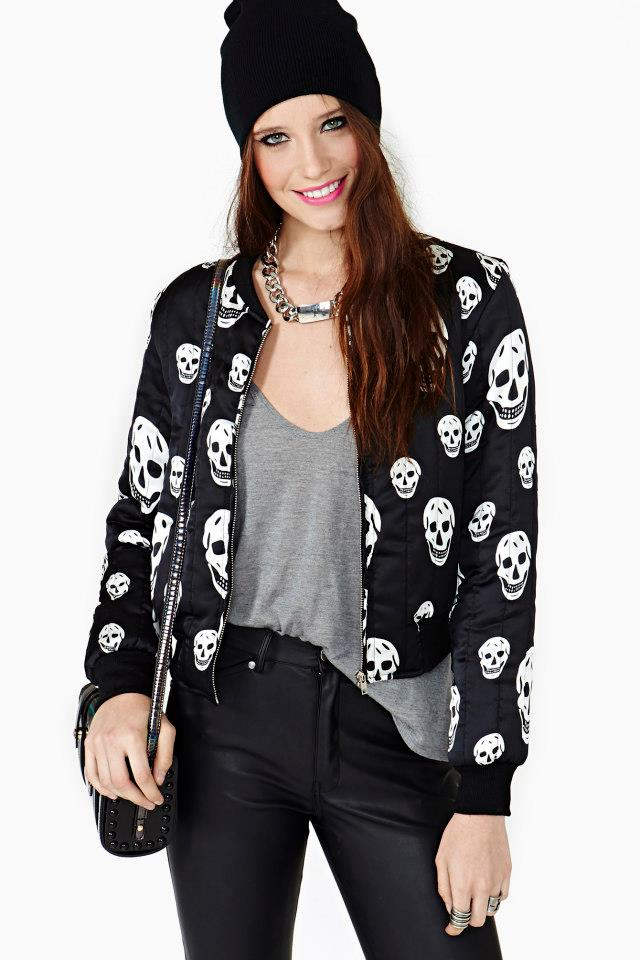 Skull collection from Nasty Gal