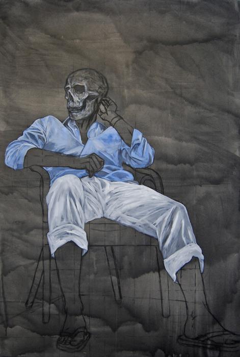 Skull paintings 3
