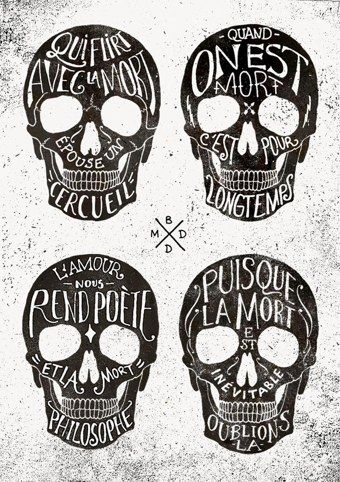 Skulls & Quotes 1