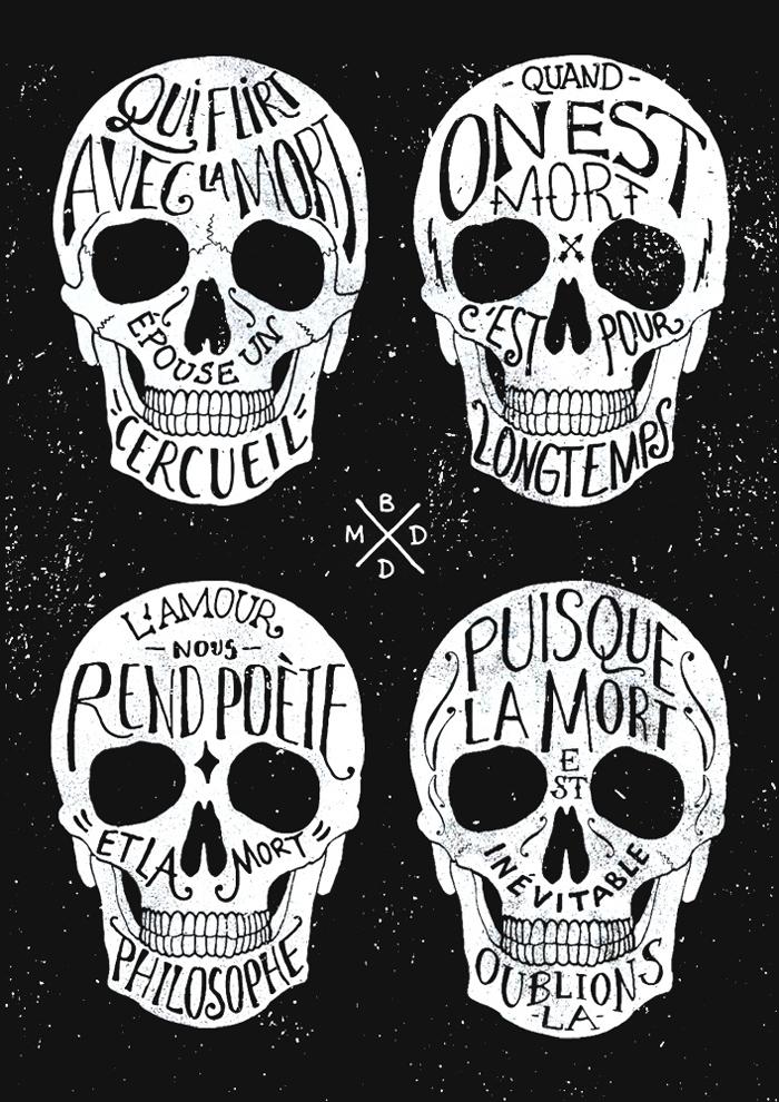Skulls & Quotes 2