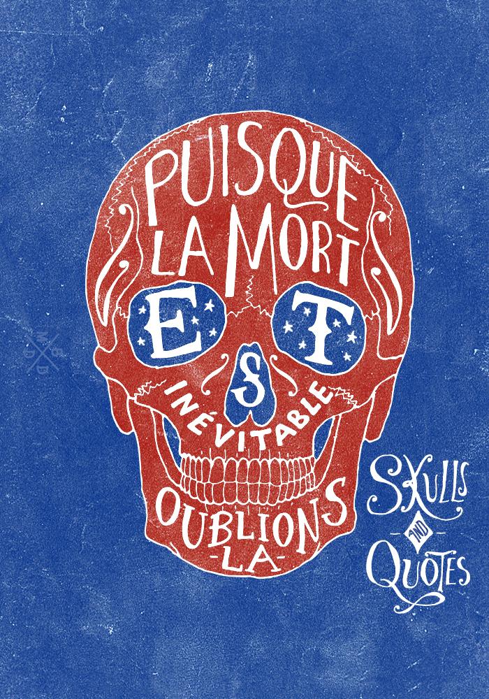 Skulls & Quotes 3