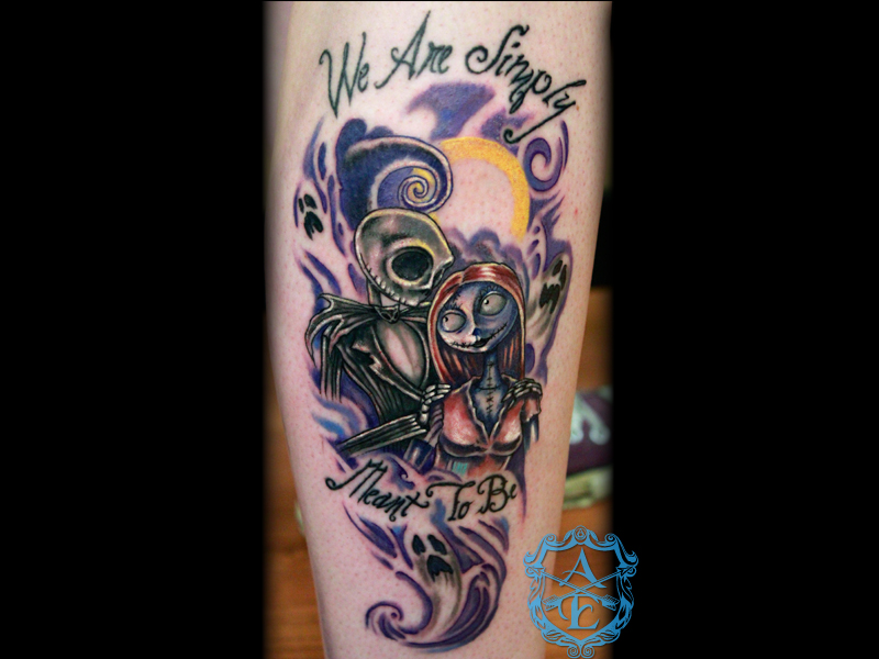 The Nightmare Before Christmas tattoo 1