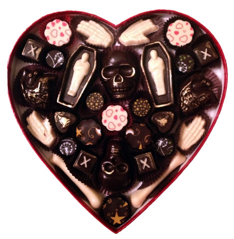 Vegan Treats Skull Chocolates