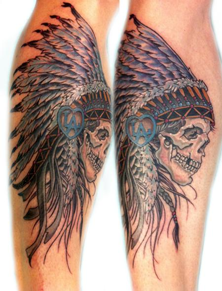 american indian tattoo