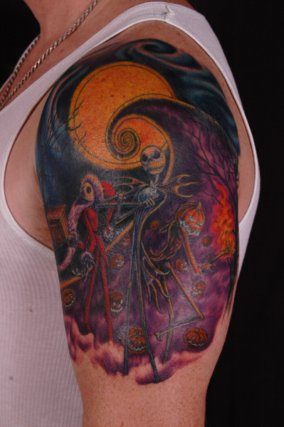 25 Jack Skellington tattoos