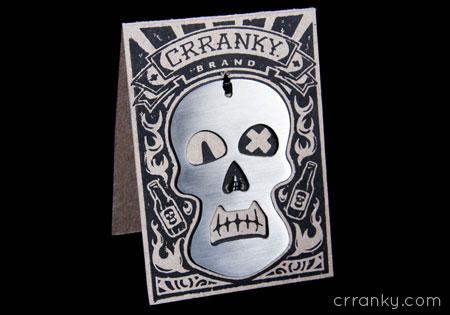 crranky skull package