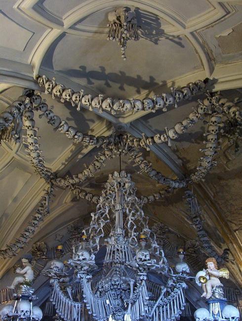 impressive chandelier sedlec