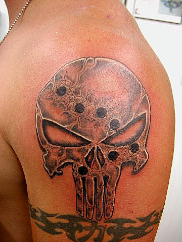 punisher-tattoo-