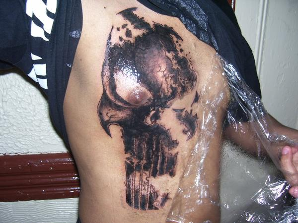Punisher tattoo