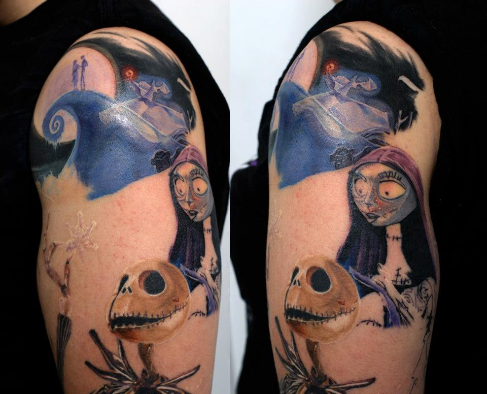 sally and jack tattoos