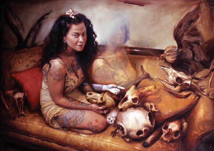 tattooed portraits by shawn barber 1