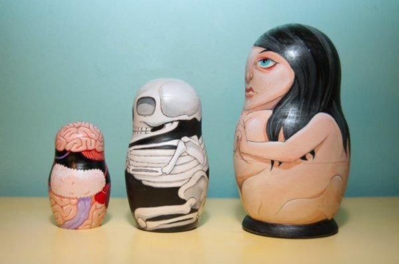 Anatomical Nesting Dolls 1