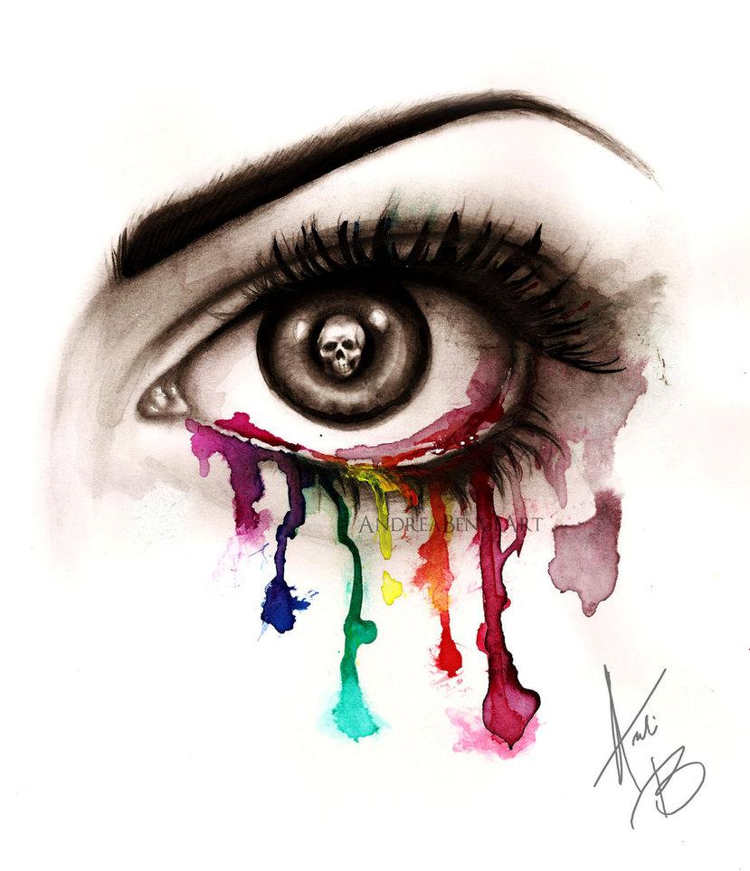 Beautiful Eye of Death