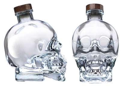 Crystal Head Vodka in Skull Bottle 1