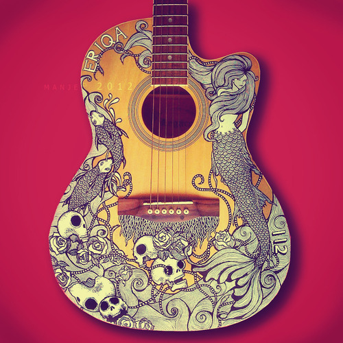 Guitar art by Manje