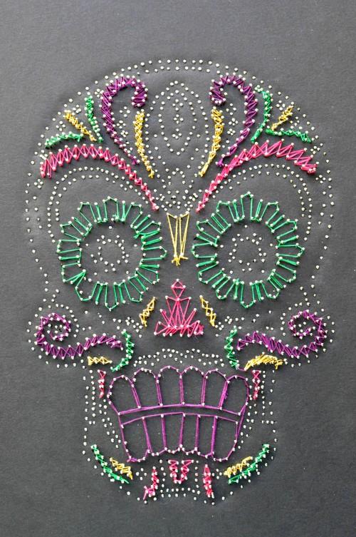 Pin Sugar Skull