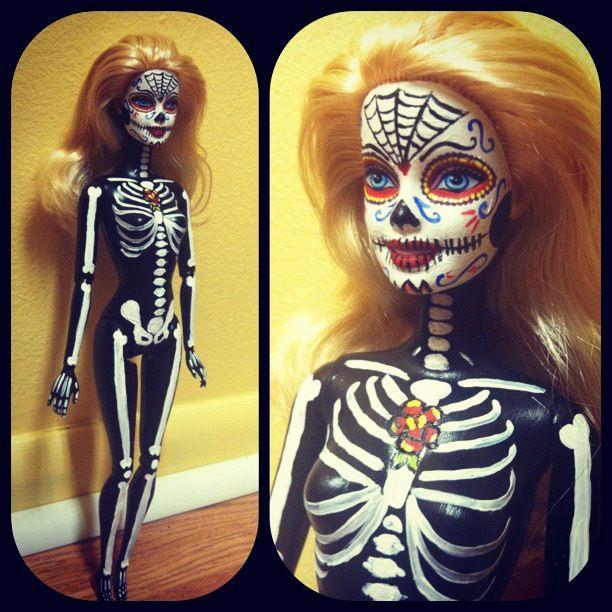 Skull Barbie