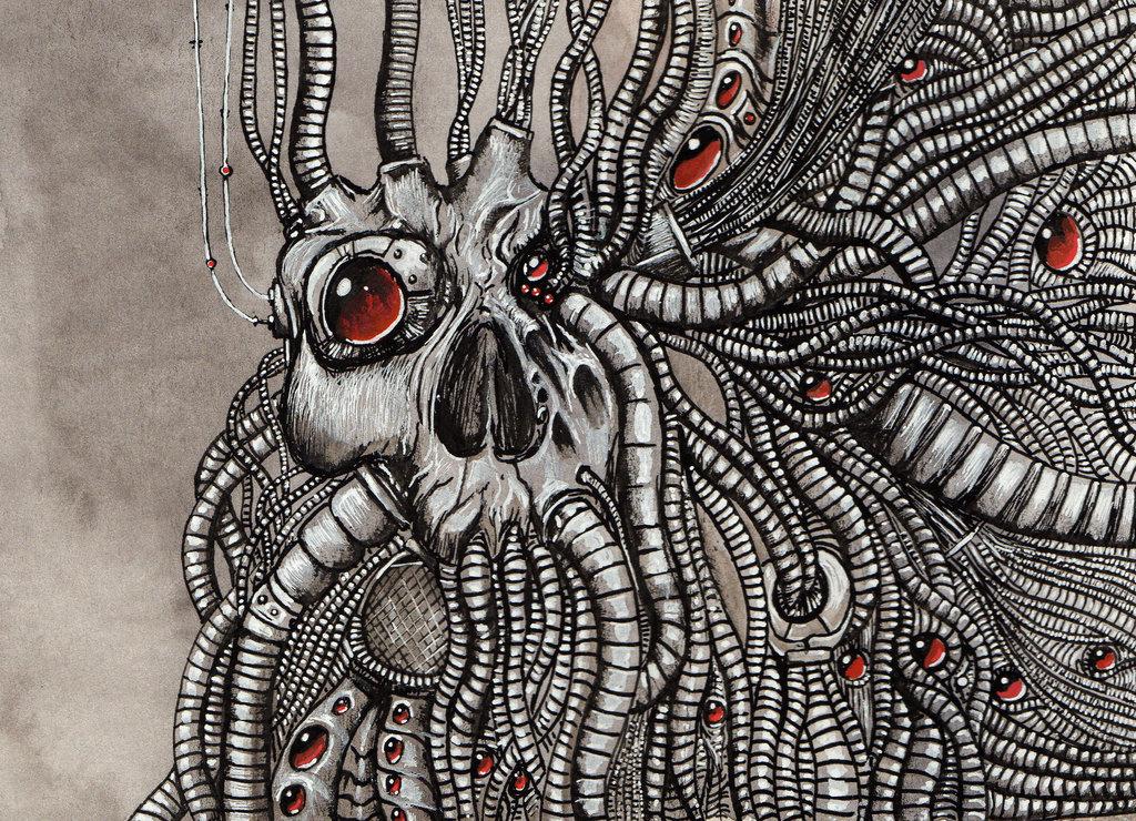 Skull illustrations 2