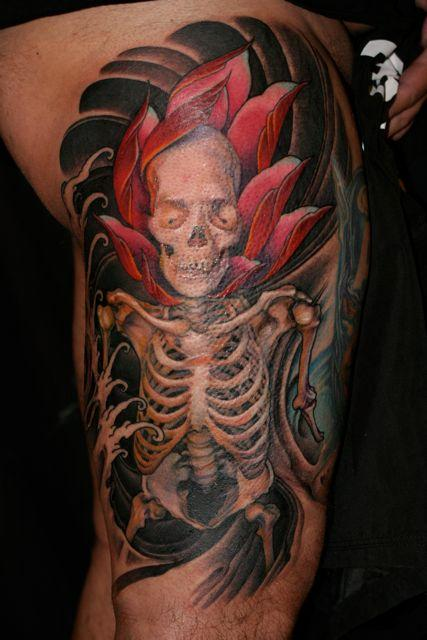 Skull tattoos by Jeff Gogue 3
