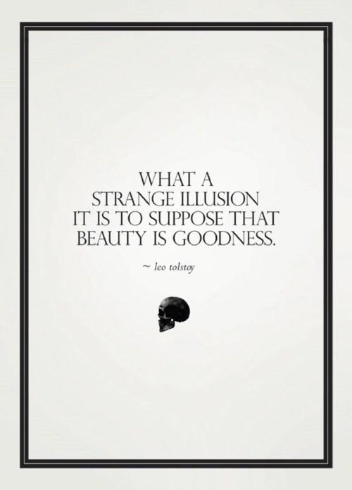 What a strange illusion
