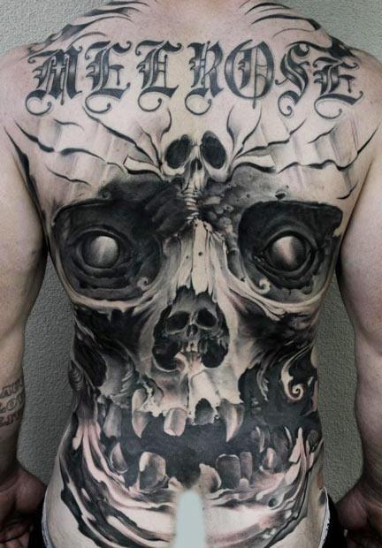 tattoo artist Matt Jordan