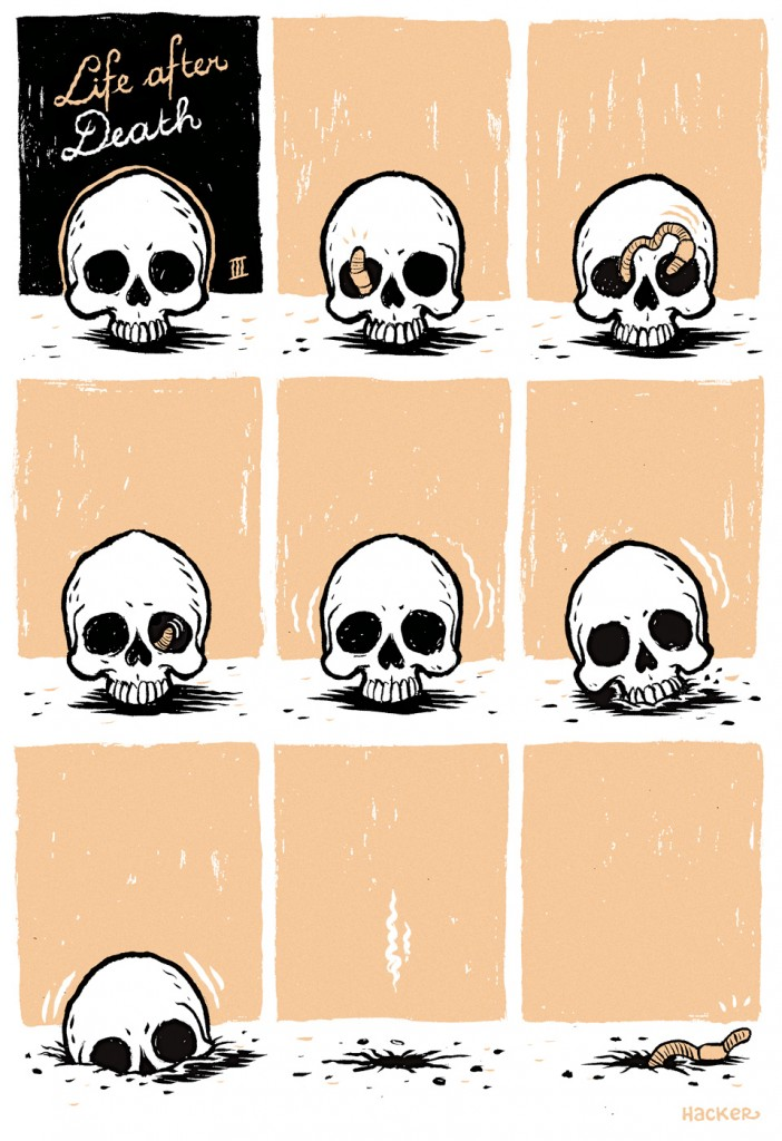 Life after Death comic 1