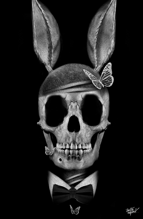 Skull Portraits by Nicolas Obery 1