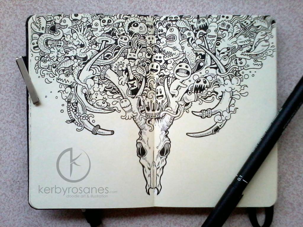 Skull Sketchy Stories 1