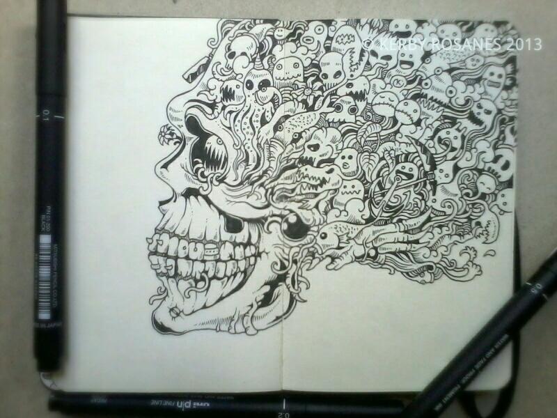 Skull Sketchy Stories 2