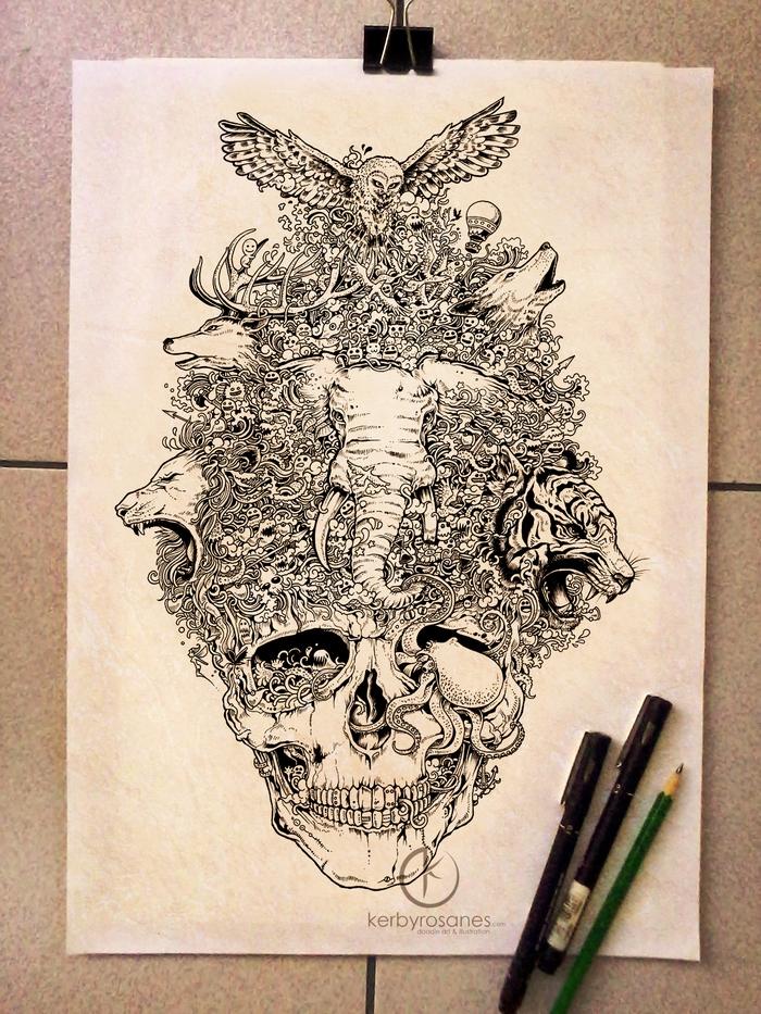 Skull Sketchy Stories