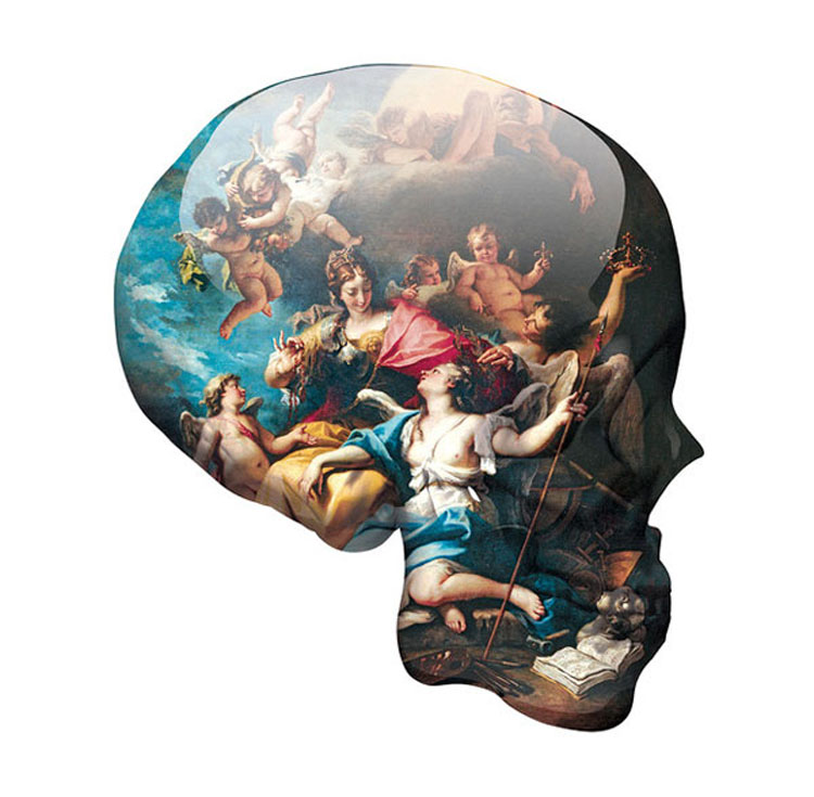 Skull Victory Over Ignorance