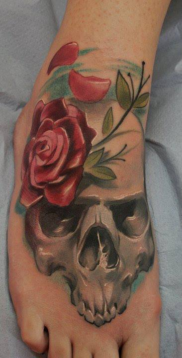 Skull tattoos by Kamil Tattoo