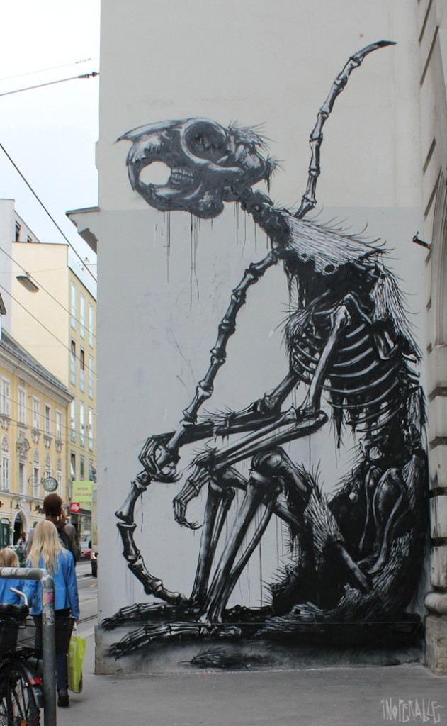 Street art by ROA 1