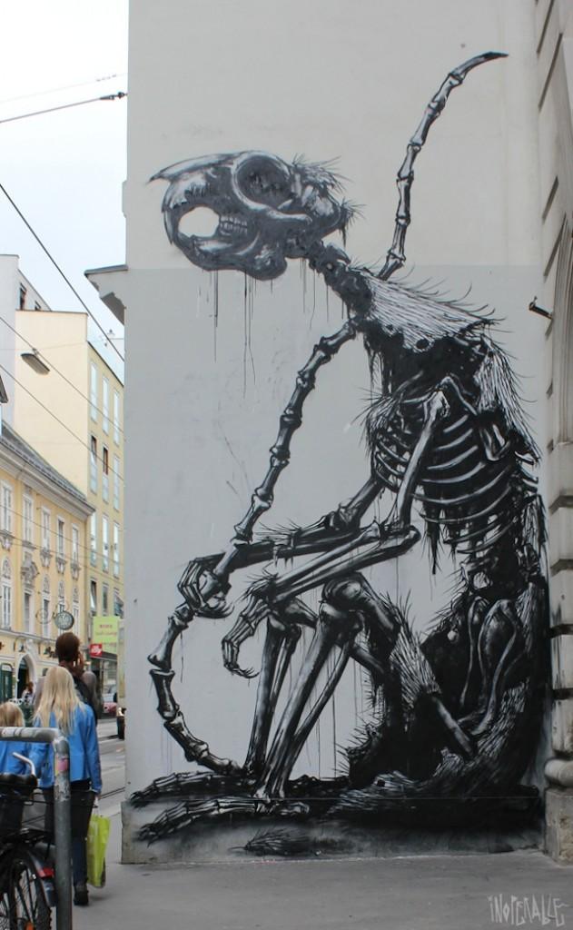 Street art by ROA 1