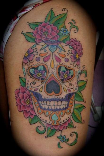 candy-skull-tattoo