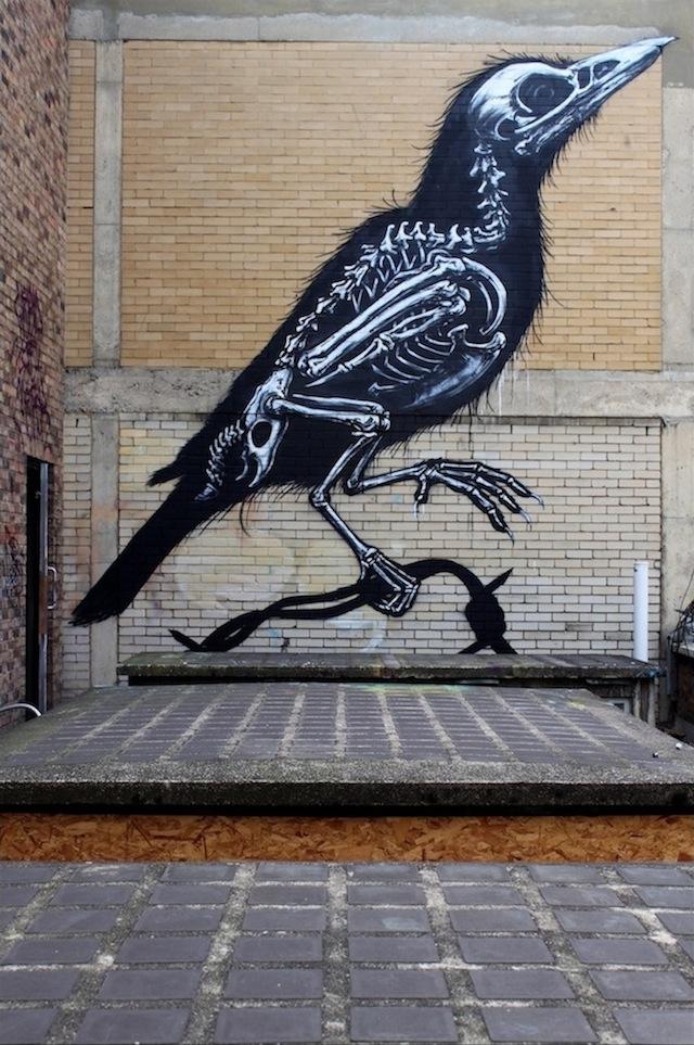 Street art ROA