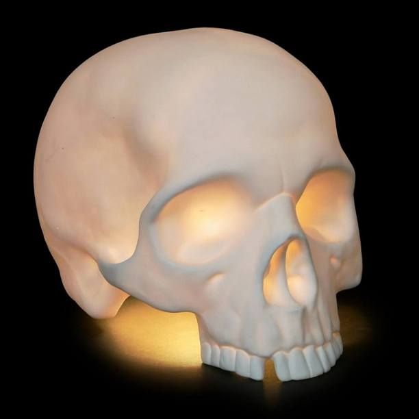 Goliath Table Skull Lamp