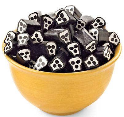Licorice Skulls