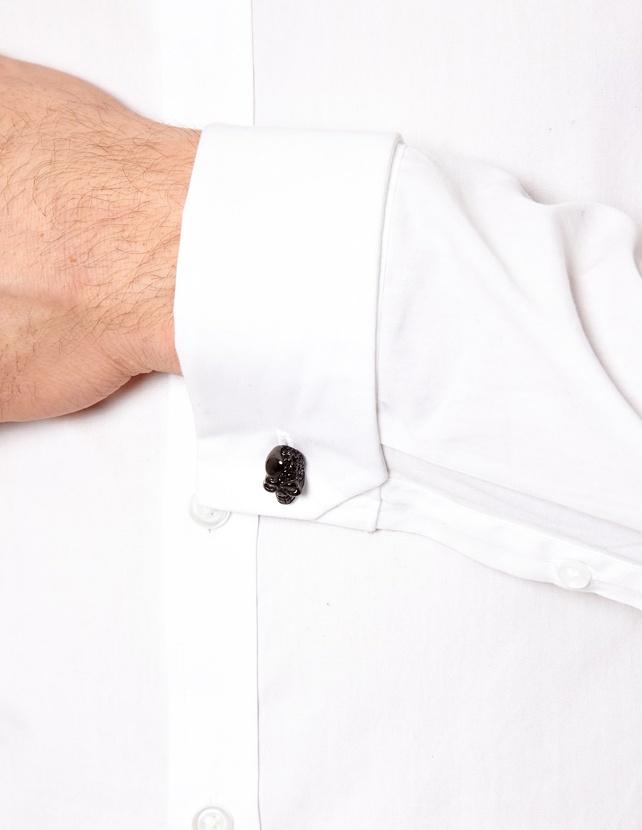 Shimla Black Skull Cufflinks 1