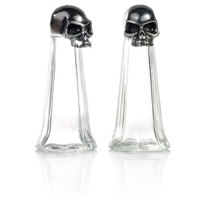 Skull Salt and Pepper Set