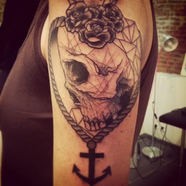 Skull tattoos by Lenad Nada 1