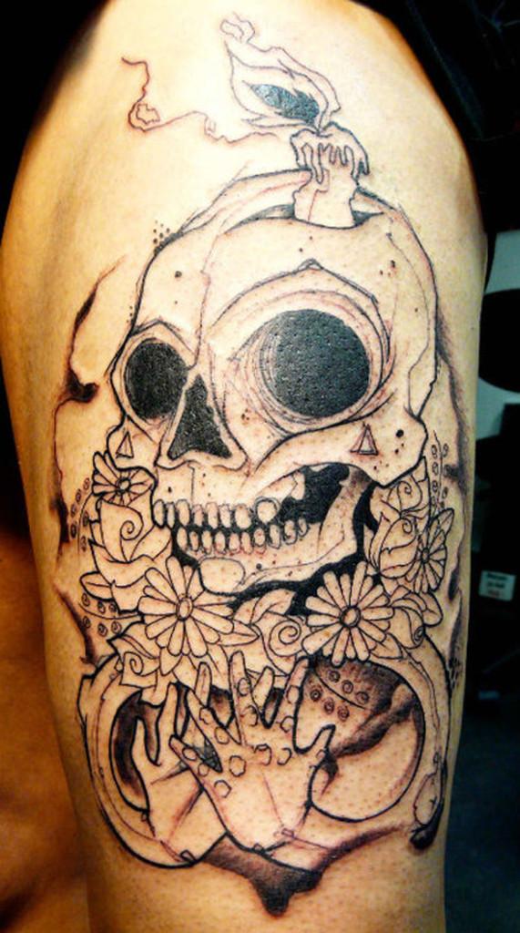 Skull tattoos by Lenad Nada 2