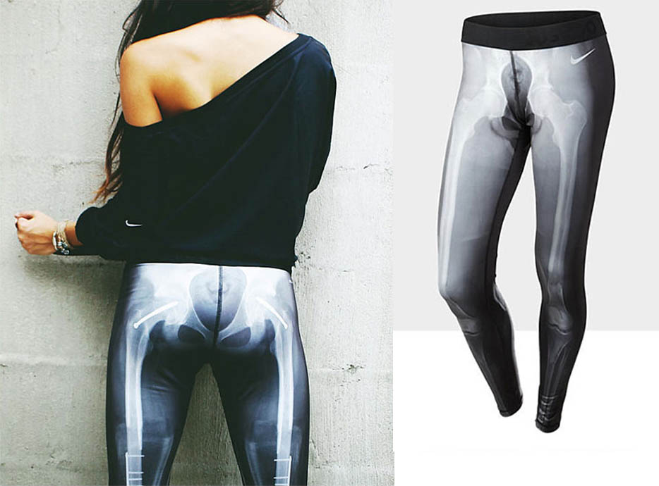 Nike Skeleton Tights