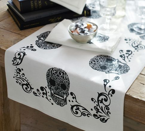 Pottery Barn's Day Of The Dead Sets 1