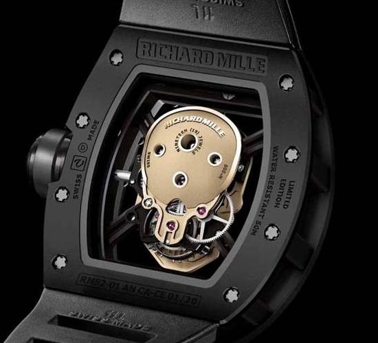 Richard Mille Skull Watch 1